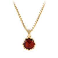 DY Fortune Faceted Amulet in 18K Gold