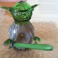 Star Wars Yoda Pipe with Light Saber