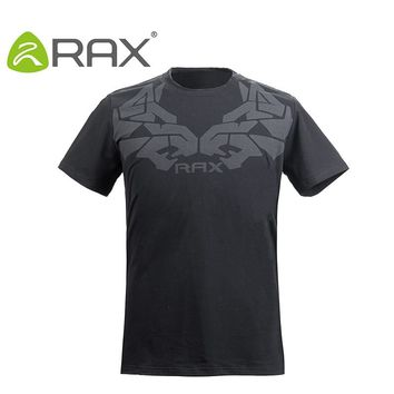 RAX Men's Sports T-shirt Breathable Quick Dry Sports Clothing Men Outdoor Sports T-shirts 72-2N102