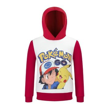 children Hoodies Sweatshirts t shirt pokemon shirt kids girls tops shirts girl t-shirt boy tshirt clothes boys tee shirt costume