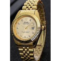 Rolex Tale of Trend Frosted Surface F-PS-XSDZBSH Gold watch
