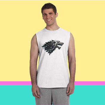 stark wolf d Sleeveless T-shirt