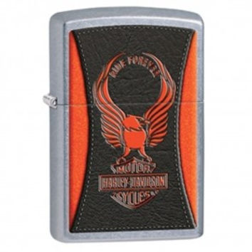 The Harley-Davidson® classic Eagle sits atop the Bar & Shield logo