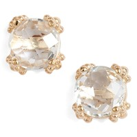 Anzie Dewdrop White Topaz Stud Earrings | Nordstrom