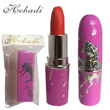 DCCKLG2 Hebadi Brand Unicorn Opaque  Long-lasting Waterproof Lipstick