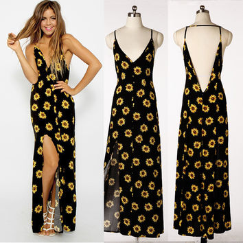 New Fashion Summer Sexy Women Dress Casual Dress for Party and Date = 4725218948