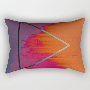 Clear as Day Rectangular Pillow by Ducky B