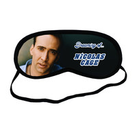 Nicolas Cage Dreaming Of Sleeping Mask