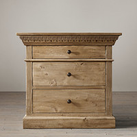 Entablature Closed Nightstand