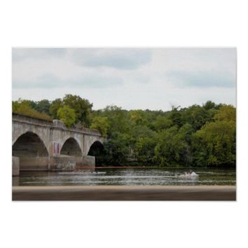 Bridge on the Delaware Poster