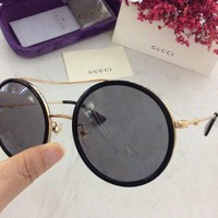 Gucci Women Men fashion Sunglasses