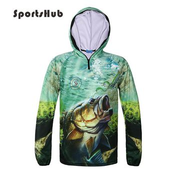 SPORTSHUB Ultra-Light Hooded Fishing Vest Quick Dry Sun Protection Fishing Clothing Anti-UV Fishing Shirts Clothes FT0071