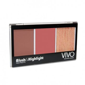 Blush & Highlight Kit Show Me Yours and I'll | Vivo Cosmetics