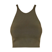Khaki New Guard Top