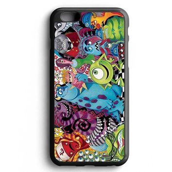 Custom Case Monsters Inc Family for iPhone Case & Samsung Case