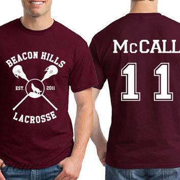 McCALL 11 Beacon Hills Lacrosse Teen Wolf Unisex Shirt - RT18