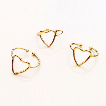 HEART SILHOUETTE RING