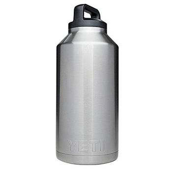 YETI Rambler 64oz Vacuum Insulated Stainless Steel Bottle with Cap (Stainless Steel)