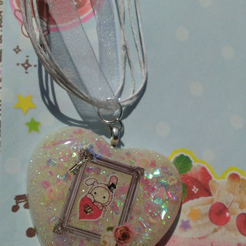 "Precious Sentimental Circus ""Frame My Love"" Kawaii Necklace"