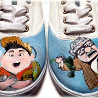 Hand painted shoes Disney Pixar Up by Bomagotchdesigns on Etsy