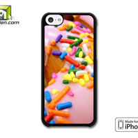 Sprinkle Donut iPhone 5c Case Cover by Avallen