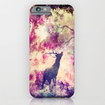 Alone in the Magic forest iPhone & iPod Case by Haroulita | Society6