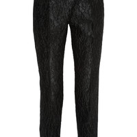 Dolce & Gabbana - Satin-jacquard tapered pants
