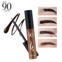 After 90 Peel Off Eyebrow Tattoo Gel Eyebrow Enhancer 3 Colors Waterproof Long Lasting Eyebrow Dyeing Tint Makeup Natural Brows