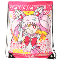 Sailor Moon Chibimoon Peace Cinch Back Sack