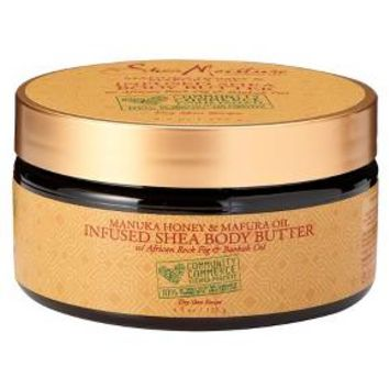 SheaMoisture Community Commerce Manuka Honey & Mafura Oil Infused Shea Body Butter - 4.5 oz