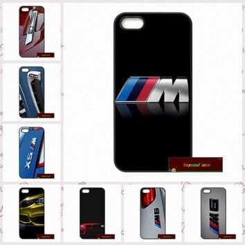 Phone Cases Cover For iPhone 4 4S 5 5S 5C SE 6 6S 7 Plus 4.7 5.5 BMW X6M M3 M4 M5 Case Cover
