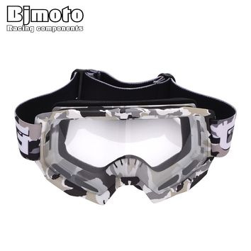 BJMOTO Men Women Gafas Motocross Goggles MX Off Road Dirt Bike Motorcycle Helmets Goggle Ski Sport Glasses Masque Moto