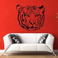 Tiger Predator Nature Animals Wall Vinyl Decal Sticker Wall Decor Home Interior Design Art Mural Z461
