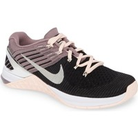 Nike Metcon DSX Flyknit Chrome Blush Training Shoe (Women) | Nordstrom