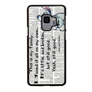 LILO AND STITCH QUOTES Disney Samsung Galaxy S3 S4 S5 S6 S7 S8 S9 Edge Plus Note 3 4 5 8 Case