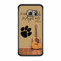 Ed Sheeran Guitar And Song Quotes Samsung Galaxy S6 Edge Case