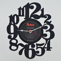 Vinyl Record Album Wall Clock (artist is Cyndi Lauper)