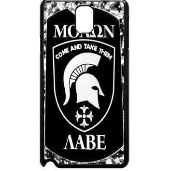 Come and Take It Molon Labe For Samsung Galaxy Note 3 Case ***