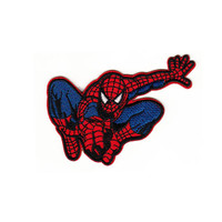 Spiderman Classic Pose Embroidered Iron-On Patch