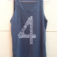 "1 Direction tank tunic 1D tunic one direction shirt Women""s clothing Size S M L"