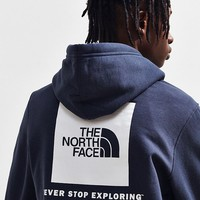 The North Face Box Logo Hoodie Sweatshirt | Urban Outfitters
