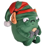 Holiday Edition Sad Gallbladder Plush with removable Elf hat