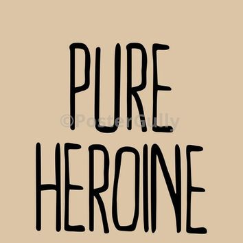 Pure Heroine Lorde | Mini Print