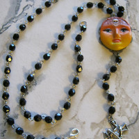Day of the Dead Rosary Necklace