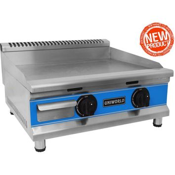 """Commercial Kitchen Countertop Economy Gas Griddle 24"""""""
