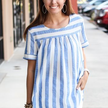 Moment Of Truth Stripe Top