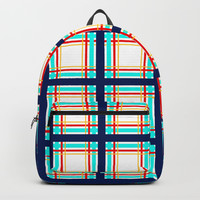 Checkered pattern on a transparent background. Backpack by albert12001