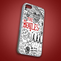 The Beatles Lyrics Quote - RoverBlack - iPhone 4/4s, 5, 5s, 5c, Samsung S2, S3, S4, iPod 4, 5