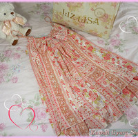 Liz Lisa Chiffon A-Line Floral Dress from Kawaii Gyaru Shop