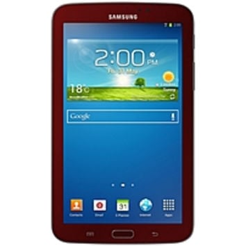 Samsung Galaxy Tab 3 SM-T210RGRSXAR Tablet PC with Case Bundle - ARMADA PXA986 1.2 GHz Dual-Core Processor - 1 GB RAM - 8 GB Storage Capacity - 7-inch Display - Android 4.1 Jelly Bean - 90 Days of Netflix Free with Registration through Samsung